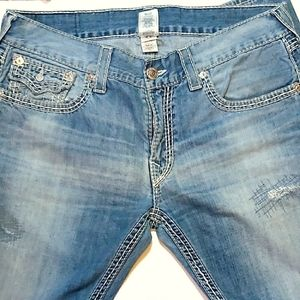 Men's True Religion Jeans.